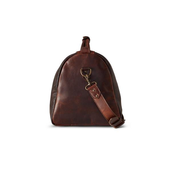 Tooled Leather Duffle
